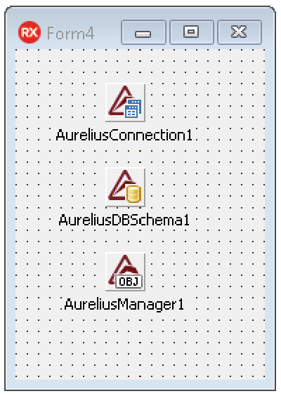 Aurelius design-time components