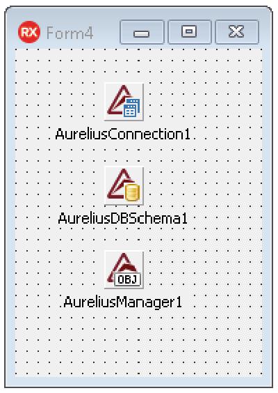 Aurelius design-time components