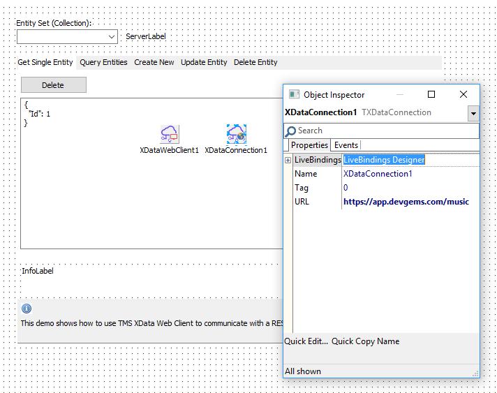 TMS Software | Blog | TMS RADical WEB, Easy REST Server