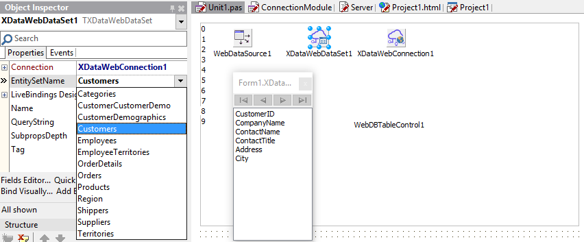 TMS Software   Blog   From Database to Web App through REST server
