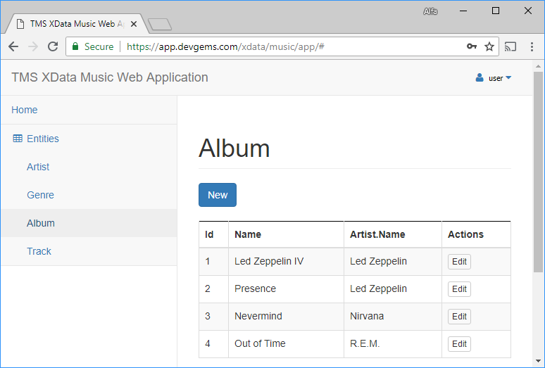 TMS Software | Blog | From Database to Web App through REST